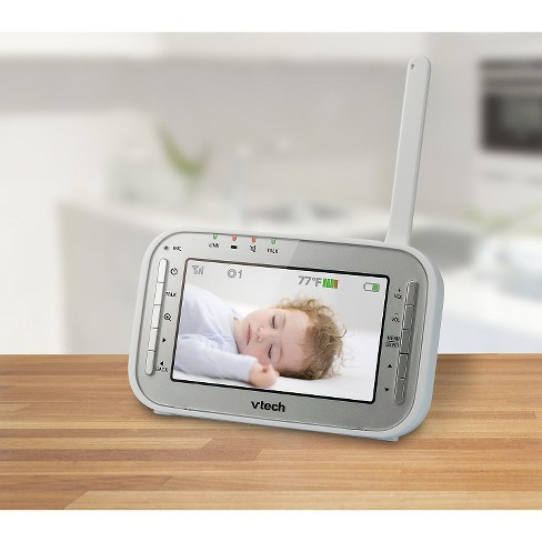 28c5ccbf081f0 VTech VM342 Video Baby Monitor with 170-Degree Wide-Angle Lens for Panoramic  View