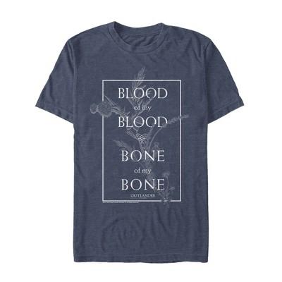 Men's Outlander Blood of My Blood Wedding Vow T-Shirt