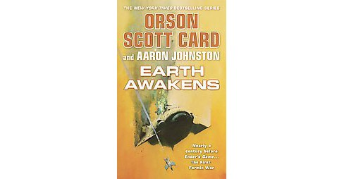 Earth Awakens (Reissue) (Paperback) (Orson Scott Card & Aaron Johnston) - image 1 of 1