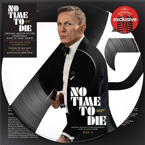 Various Artists - No Time To Die (Target Exclusive, Vinyl Picture Disk) - image 1 of 1