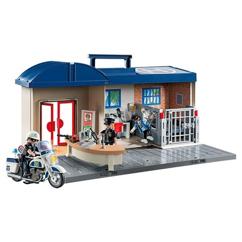 Playmobil Take Along Police Station - image 1 of 6