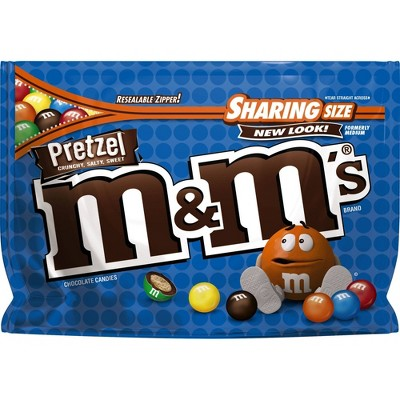 Chocolate Candies: M&M's Pretzel
