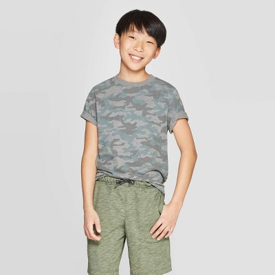 Boys' Short Sleeve Printed T-Shirt - Cat & Jack™