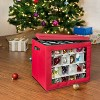 Honey-Can-Do Holiday Over The Door Organizer Red - image 3 of 4