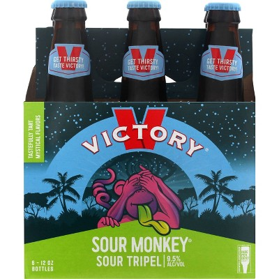 Victory Sour Monkey Tripel Beer - 6pk/12 fl oz Bottles
