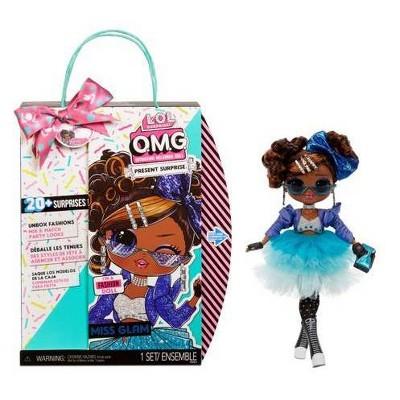 L.O.L. Surprise!OMG PresentSurpriseFashionDollMiss Glam with 20Surprises and 5FashionLooks