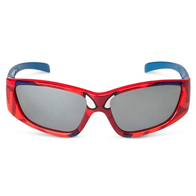 6c3203137c234 Check Inventory. Spider-Man Toddler Boys Superhero Oval Sunglasses Red One  Size