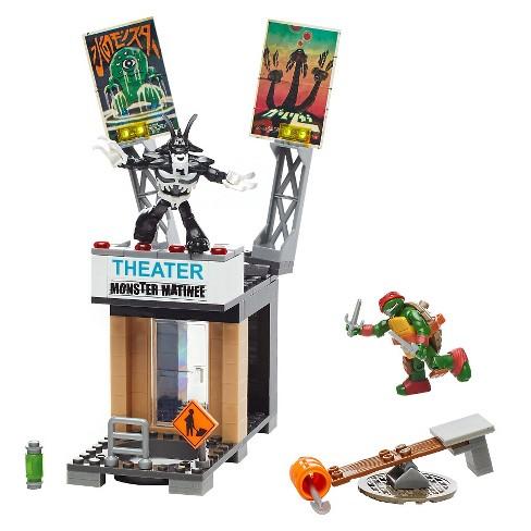 Mega Bloks Teenage Mutant Ninja Turtles Raph Rooftop Blast-Out Building Playset - image 1 of 5