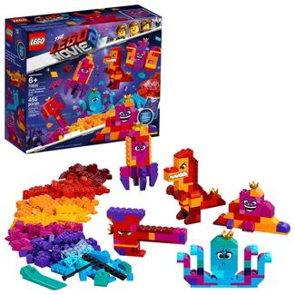THE LEGO MOVIE 2 Queen Watevras Build Whatever Box! 70825