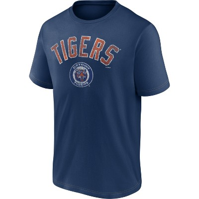 MLB Detroit Tigers Men's Short Sleeve Bi-blend T-Shirt