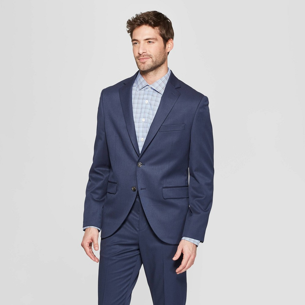 Men's Slim Fit Suit Jacket - Goodfellow & Co In The Navy 42R