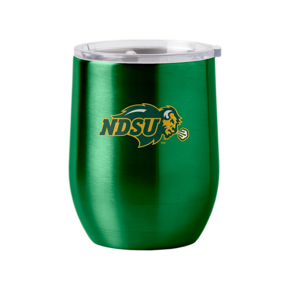 North Dakota State Bison Stainless Steel Ultra Curved Wine Tumbler - 16oz