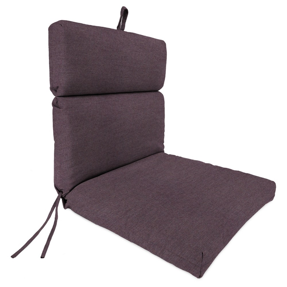 Outdoor French Edge Dining Chair - Plum Purple - Jordan Manufacturing