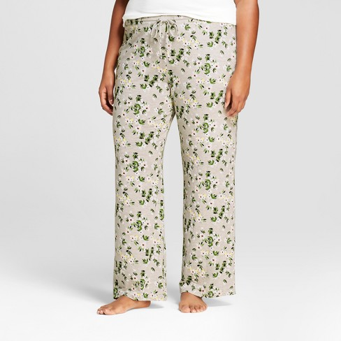 Women's Plus Size Total Comfort Pajama Pants - Gilligan & O'Malley™ - image 1 of 2
