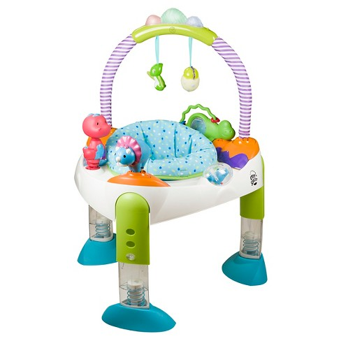Evenflo® ExerSaucer Fast Fold & Go - D is for Dino - image 1 of 12