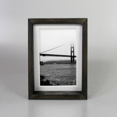 """5"""" x 7"""" Matted to 4"""" x 6"""" Table Frame Black - Project 62™"""