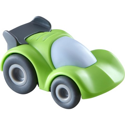 HABA Kullerbu Green Speedster Race Car with Momentum Motor