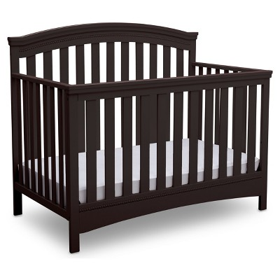 Delta Children Emerson® 4-in-1 Convertible Crib - Dark Chocolate