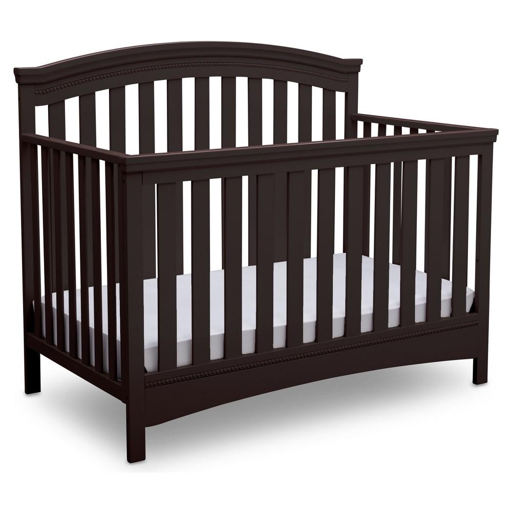 Delta Children Emerson 4-in-1 Convertible Crib - Dark Chocolate