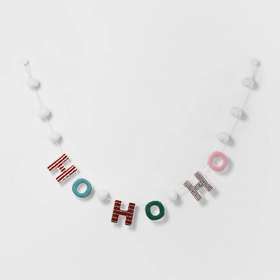 """72""""-ho-ho-ho-garland---wondershop by shop-this-collection"""