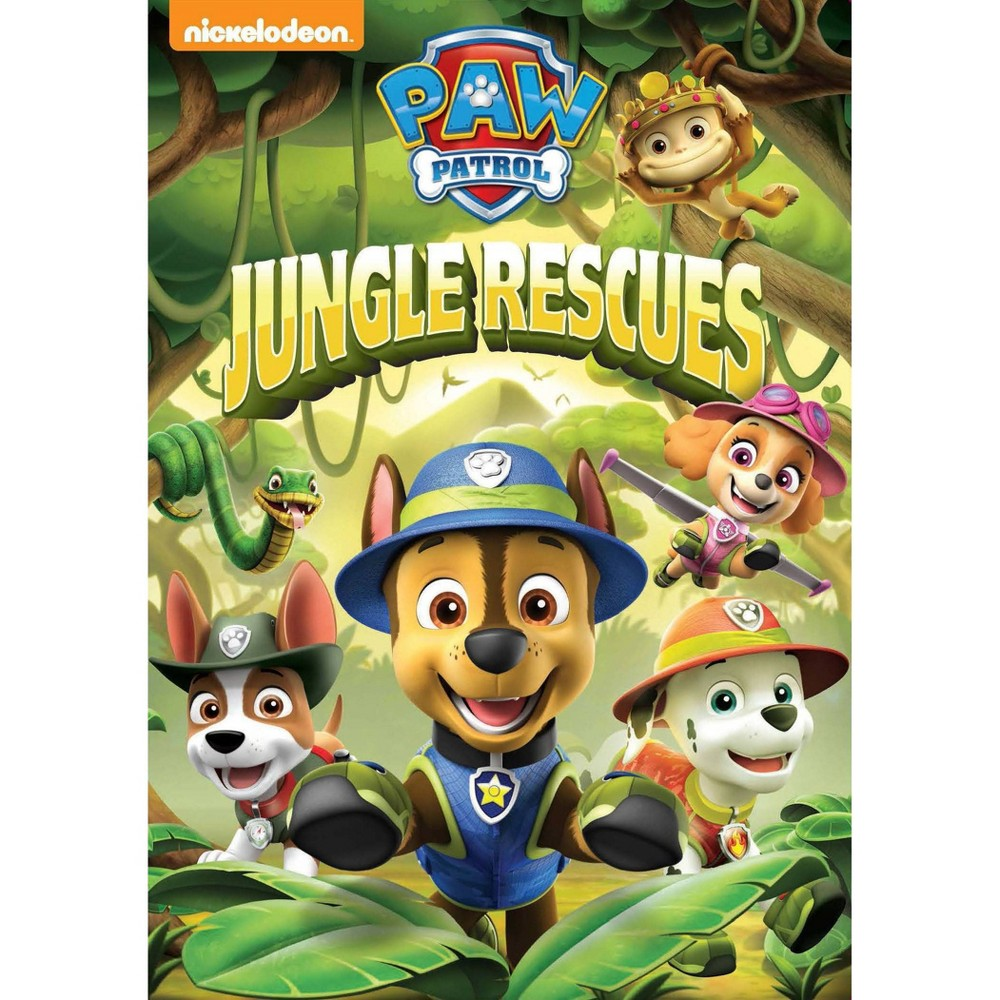 Paw Patrol Jungle Rescues Dvd