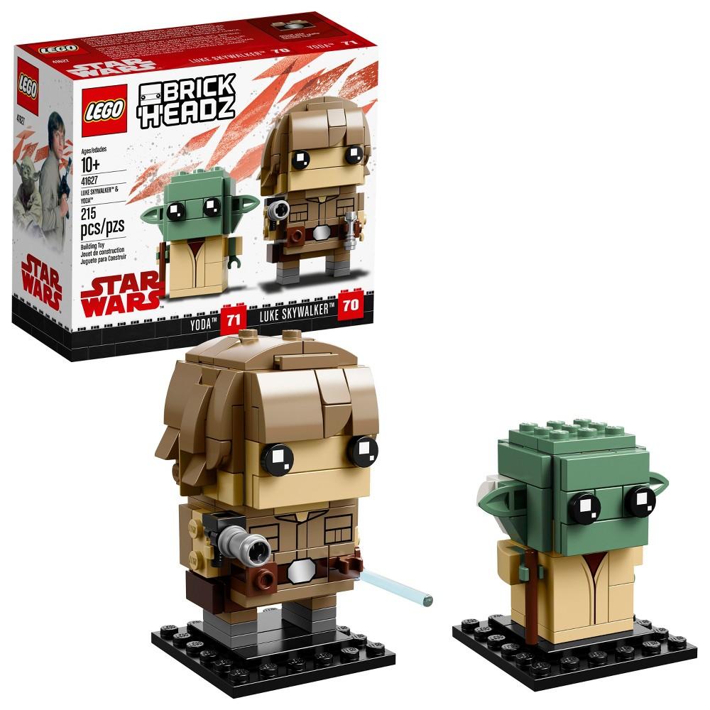 Lego BrickHeadz Star Wars Luke Skywalker & Yoda 41627