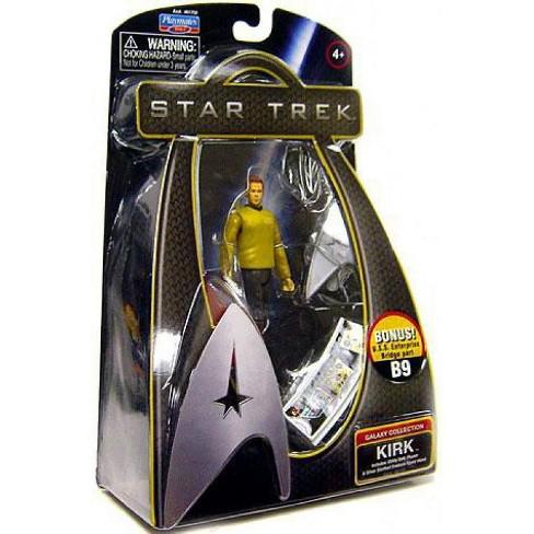 Star Trek 2009 Movie James T. Kirk Action Figure [Enterprise Uniform] - image 1 of 1