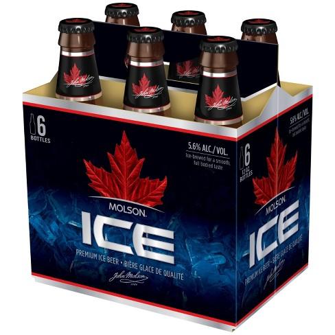 Molson Ice Beer - 6pk/12 fl oz Bottles - image 1 of 1