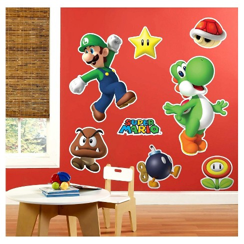 Super Mario Party  Wall Decal - image 1 of 1