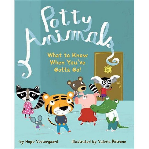 Potty Animals - by  Hope Vestergaard (Hardcover) - image 1 of 1