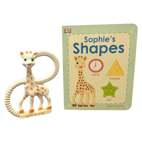 Sophie La Girafe Shapes Book And Teether Target