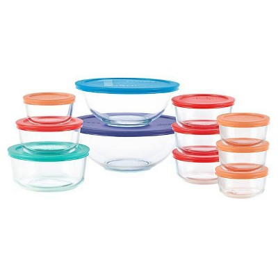 Pyrex 22pc Glass Prep and Storage Set