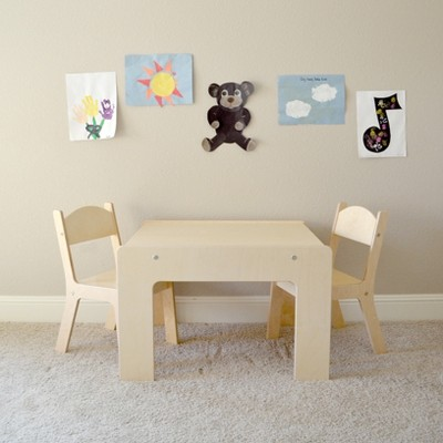 Little Tikes Lego Table Target, Wooden Lego Table With 3 Chairs