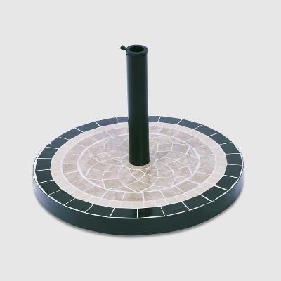 Mosaic Umbrella Base Brown - Threshold™