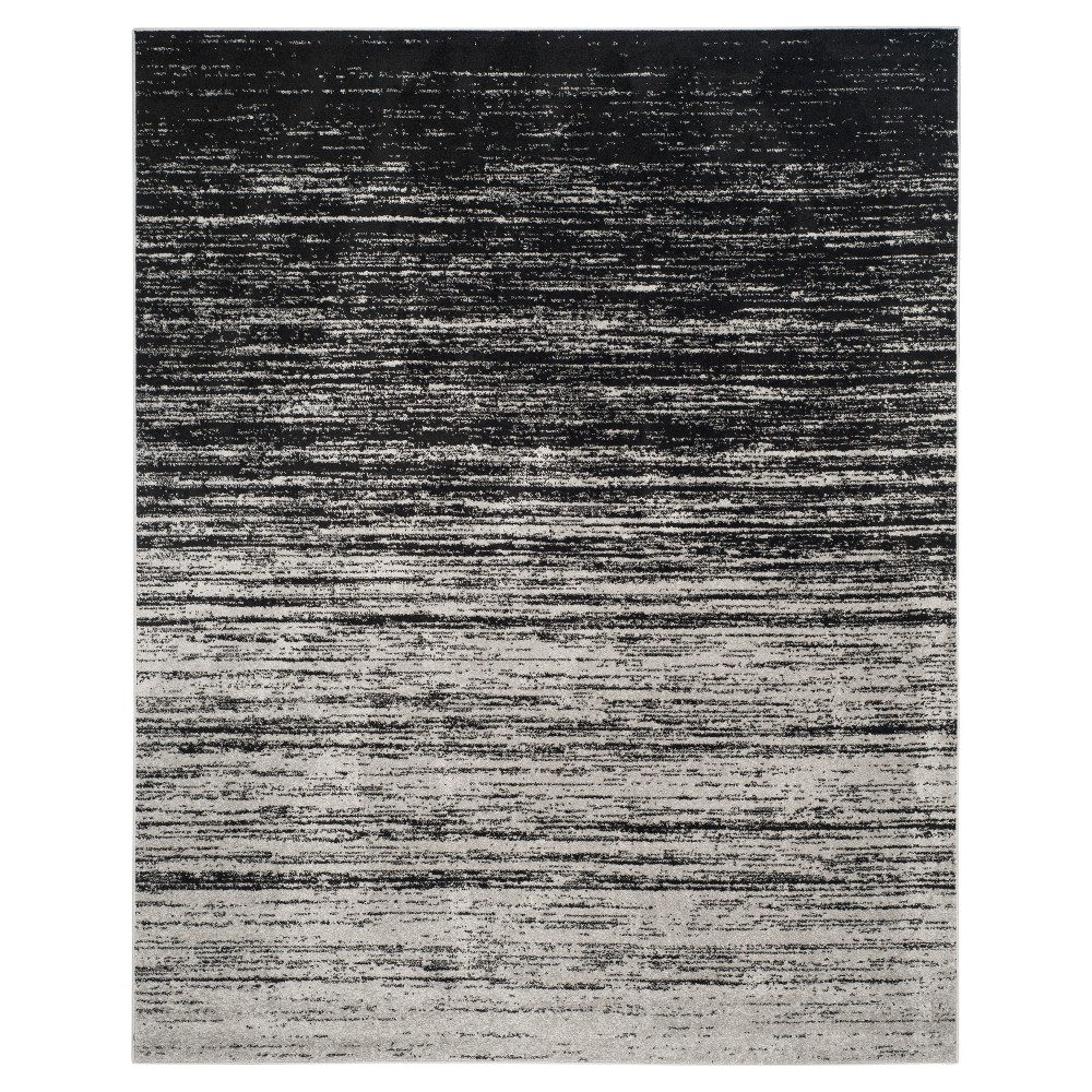 Norris Area Rug - Silver/Black (9'x12') - Safavieh