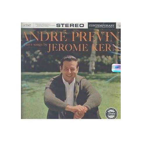 Andre (Conductor Previn & Piano) - Andre Previn Plays Jerome Kern (CD) - image 1 of 1