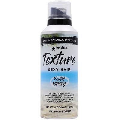 Sexy Hair Foam Texture Party Volumizer - 5.1oz