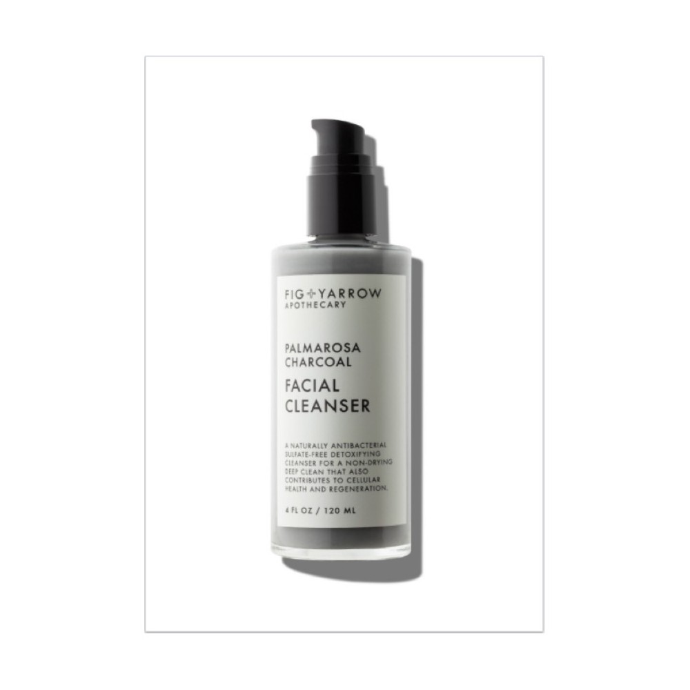 Fig And Yarrow Palmarosa Charcoal Cleanser - 4oz