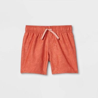 Toddler Boys' Swim Shorts - Cat & Jack™ Rust