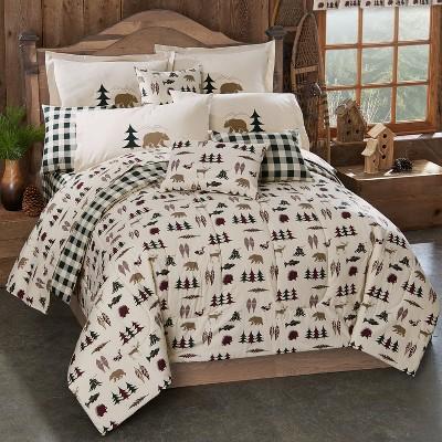 Northern Exposure Comforter Set - King (4pc )- True Grit