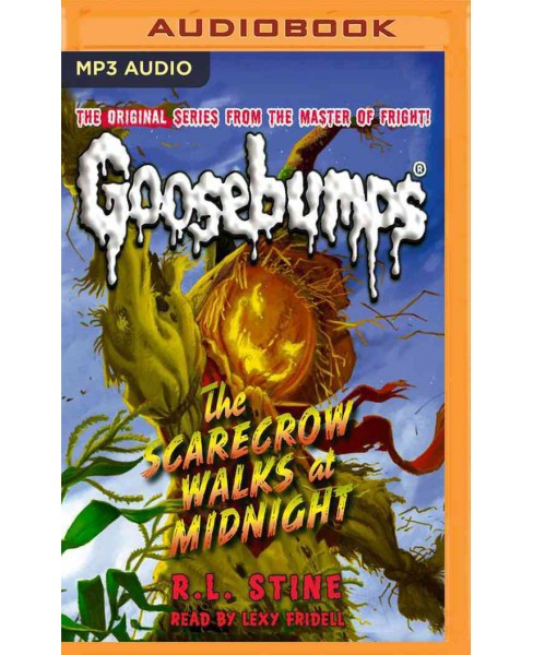 Scarecrow Walks at Midnight (MP3-CD) (R. L. Stine) - image 1 of 1