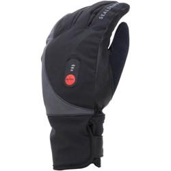 SealSkinz Waterproof Heated Cycle Gloves - Black, Full Finger, Large