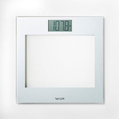 Glass Personal Scale Clear - Taylor