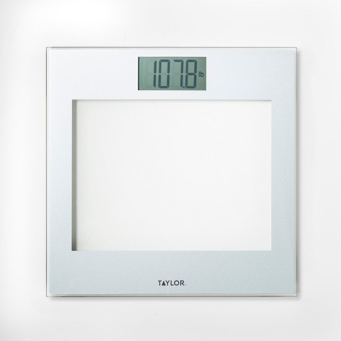 Glass Personal Scale Clear - Taylor - image 1 of 1