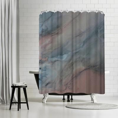 Americanflat Dark Grey By Deb Mcnaughton 71 X 74 Shower Curtain Target