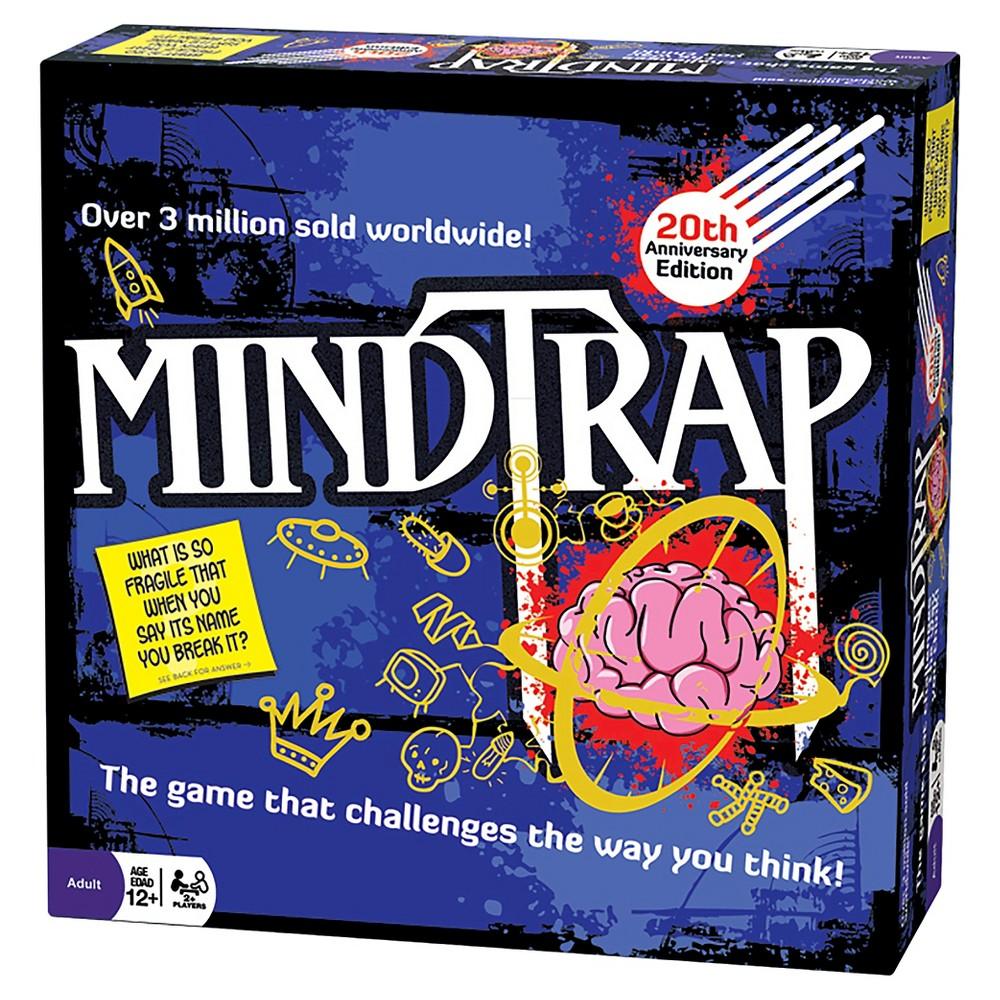MindTrap: 20th Anniversary Edition Board Game, Multi-Colored