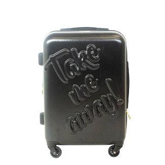 The Macbeth Collection 21u0022 Take me Away Hardside Spinner Suitcase - Black