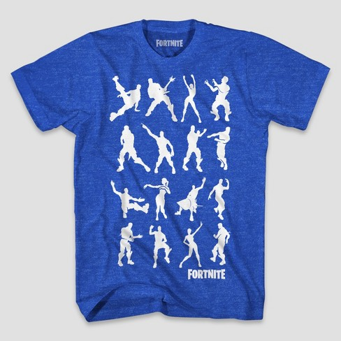 4fa0fa00b Men's Fortnite Short Sleeve Graphic T-Shirt - Royal : Target