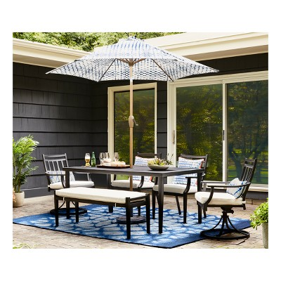 Fairmont Steel Patio Furniture Dining Collection Threshold