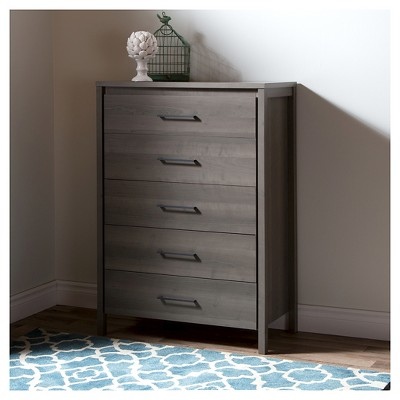 Captivating Gravity 5 Drawer Chest   South Shore